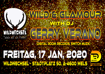 Wild & Glamour at Wildwechsel Wels w/Gerry Verano!