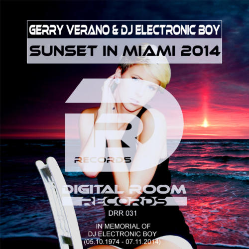 Gerry Verano & DJ Electronic Boy - Sunset in Miami 2014 1440x1440